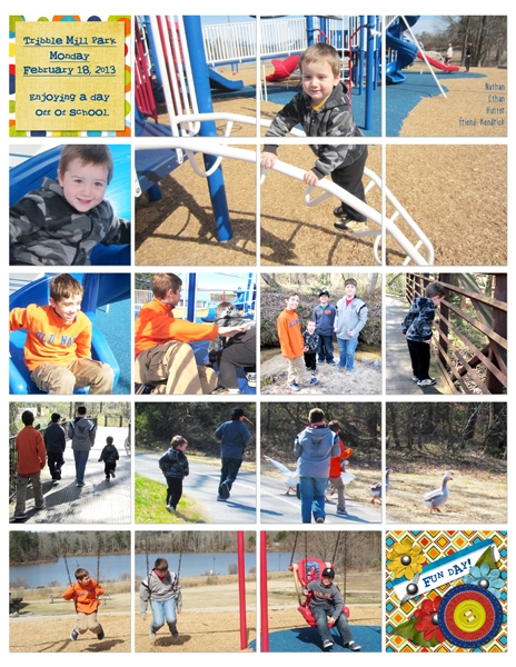 Project Life 2013 Feb page7
