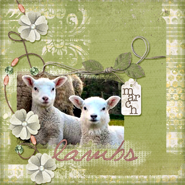 Monday Challenge - Spring - March Lambs