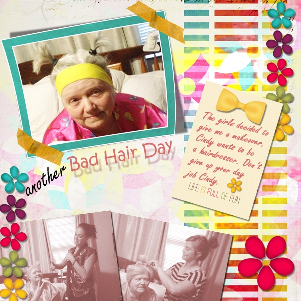 Tuesday Freebie- Another Bad Hair Day
