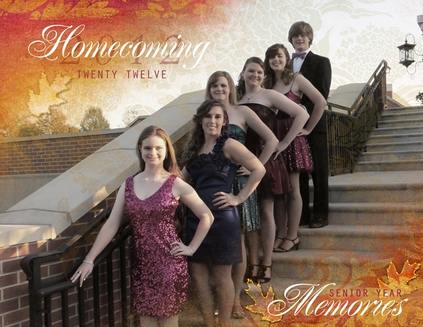 Homecoming 2012 Album - Front Cover