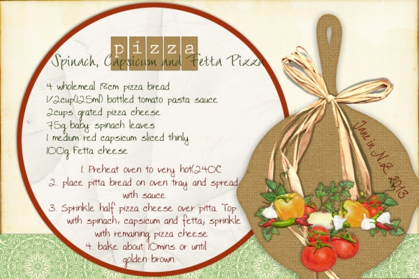Take-Out recipe_Pizza