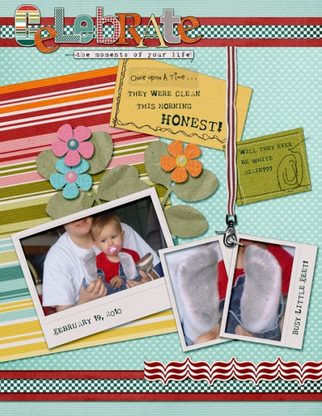 Tuesday Freebie 4/9 - Busy Little Feet