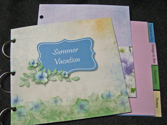 Summer Vacation Journal