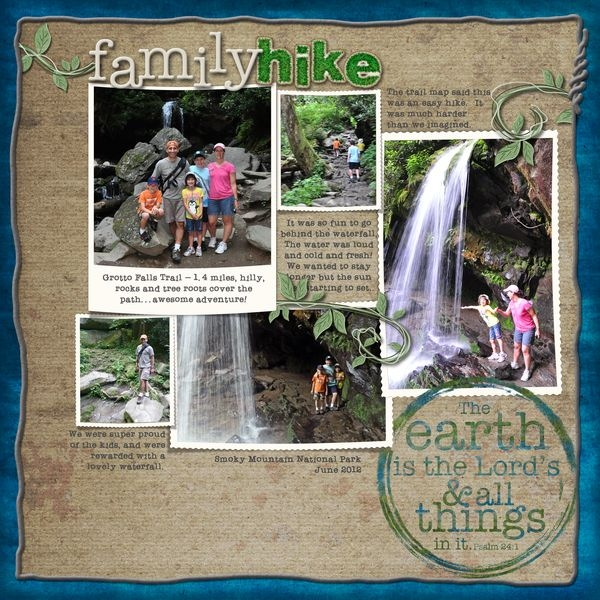 Grotto Falls - Earth Day Challenge