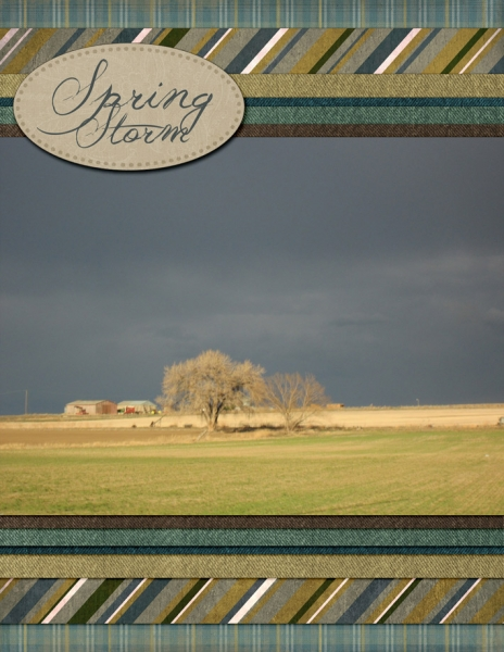 Monday Challenge - 4/22 - Earth Day - Spring Storm 1