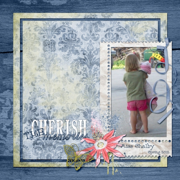 "FRIDAY 5/24 SCRAPLIFT ANG CAMPBELL CHALLENGE - ""MISS SHELBY"