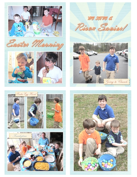 Project Life 2013 March page 4