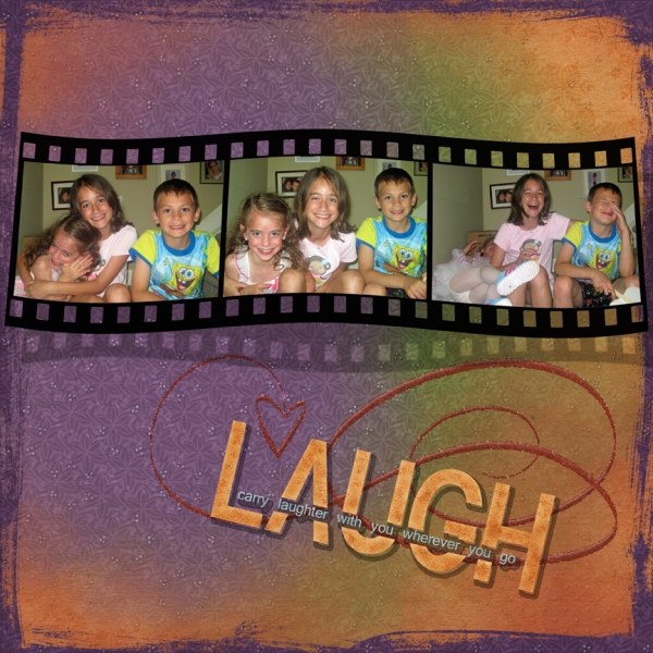 "Saturday Color Challenge 6/22/13 - ""Laugh!"""
