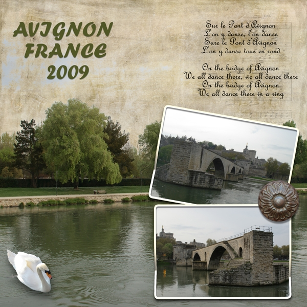 Mon. 7/15 challenge - Bridge at Avignon