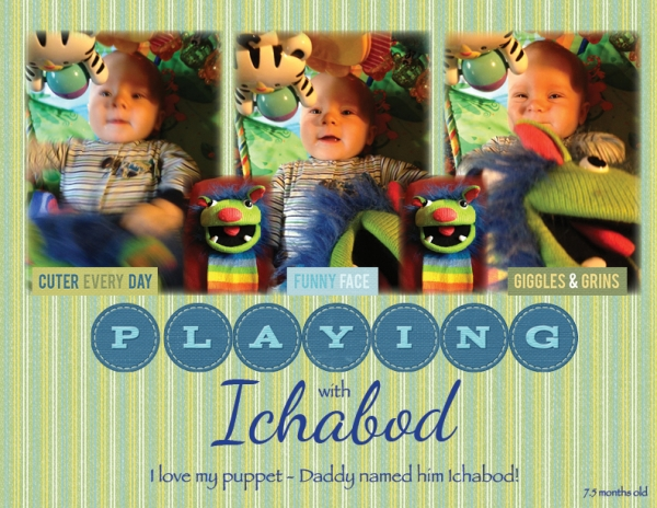 Project Life 2013 - Playing with Ichabod
