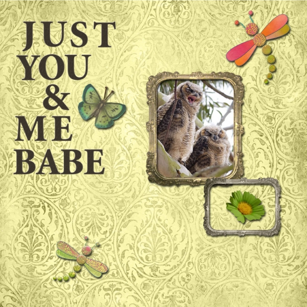 Friday 7-12-13 Scraplift -- Just You & Me