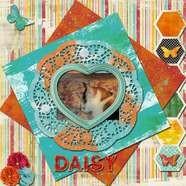 Tuesday 8-20-13 Freebie Challenge -- Daisy