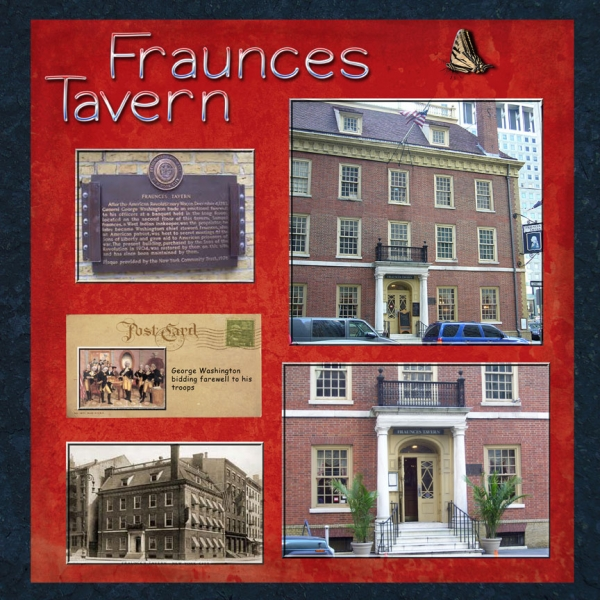 Staycation Historic Downtown -- Fraunces Tavern New York