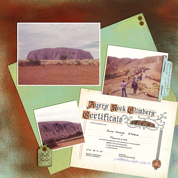 Staycation Color Challenge - Ayers Rock