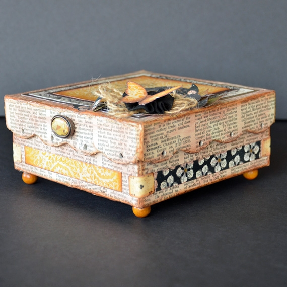 Printable Altered Boxes - I am Beginning to Learn Front