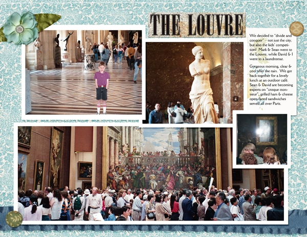 Visiting the Louvre, p.1 of 2
