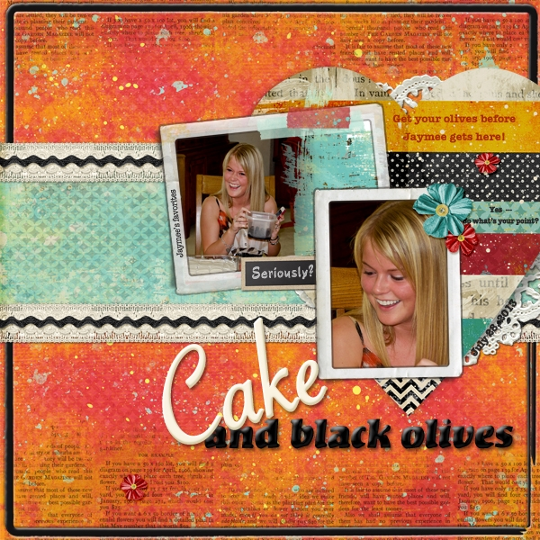 Cake & Olives  7/2 Armi Custodio Scrap Lift