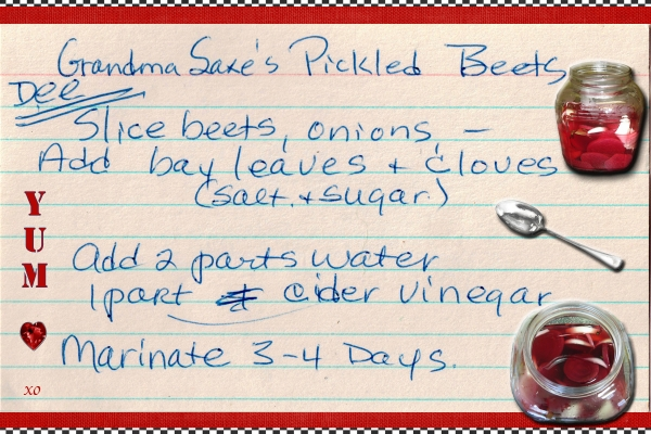 """Staycation 2013: Farm Fresh Recipe Chat & Challenge - """"Pickled Beets"""""""