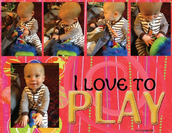 Project 2013 - I love to play!