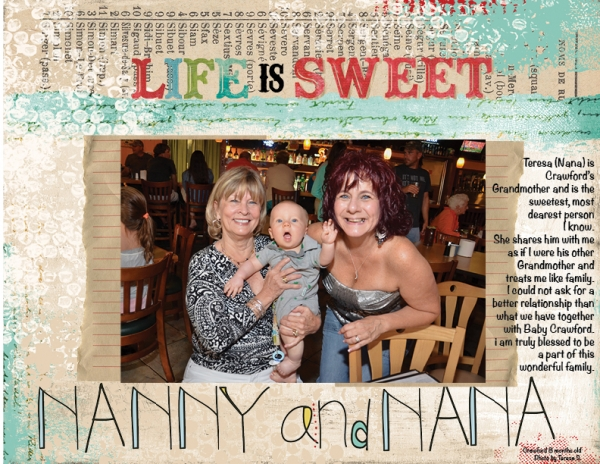 Project Life 2013 - Nanny and Nana