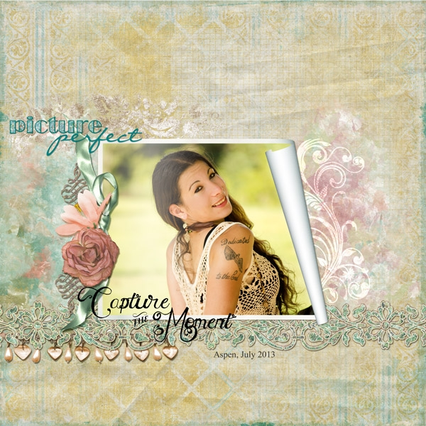 Aug 2 - Friday Scraplift - Picture Perfect