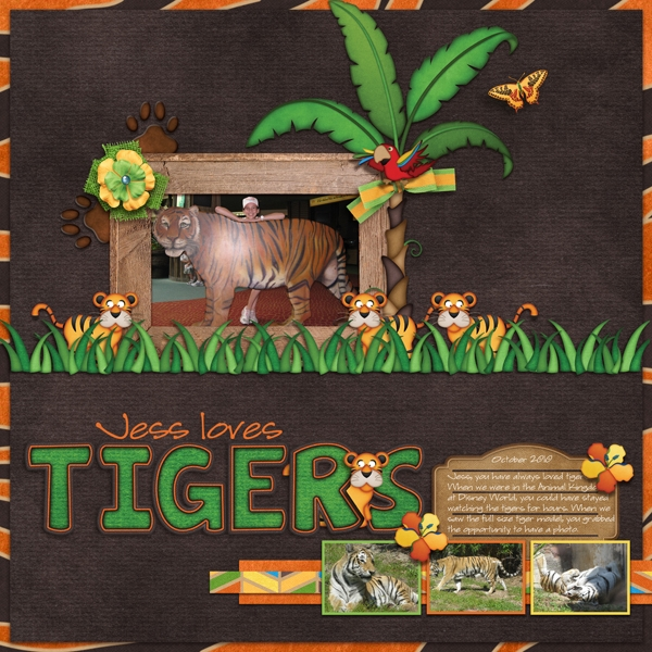Jess loves tigers