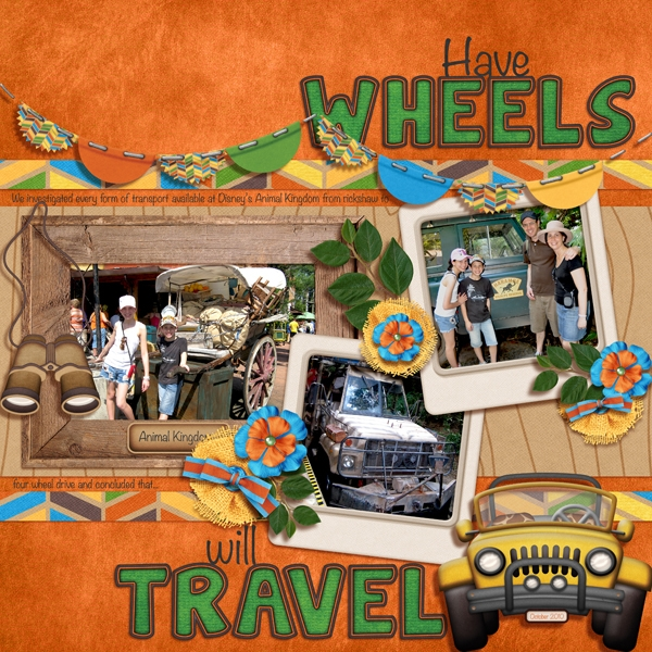 Have wheels, will travel
