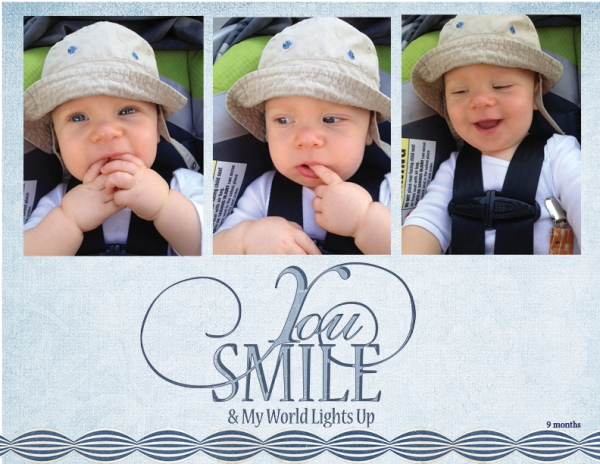 Project Life 2013 - You Smile