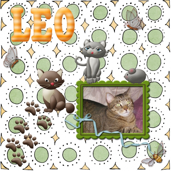 Scrap Simple Mini Class -- Leo