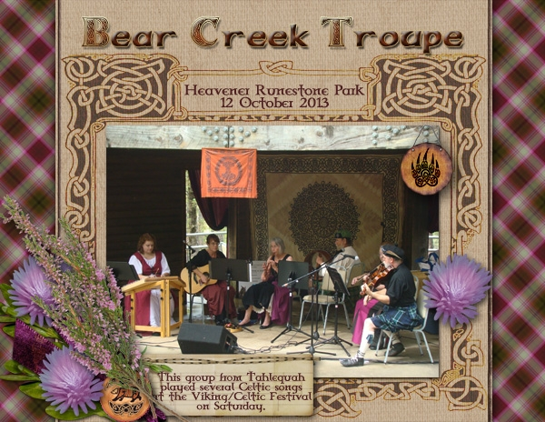 6Nov13 One Photo - Bear Creek Troupe