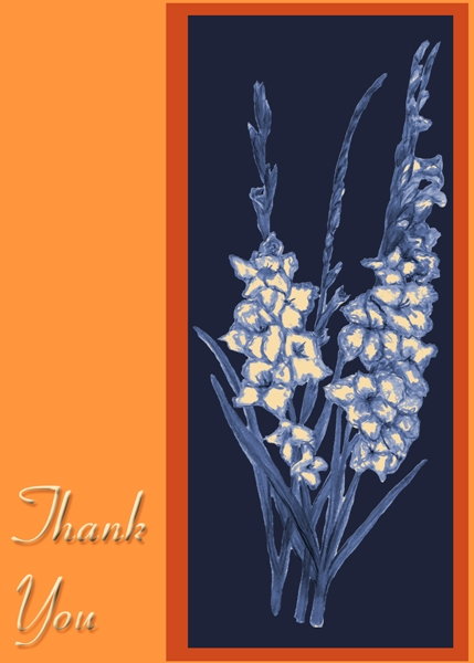 NSDS Thank you card for Linda