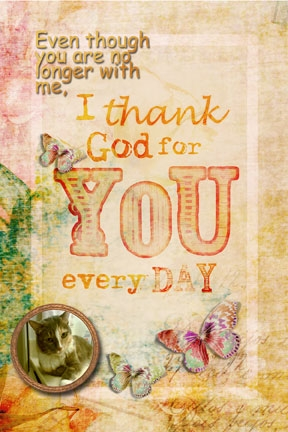 Gratitude Day 3 -- I Thank God For You