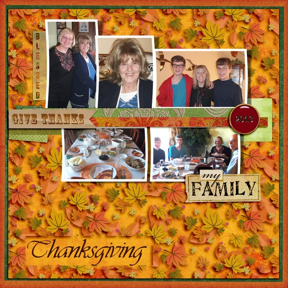 Family Thanksgiving (HNC-autumn colors)