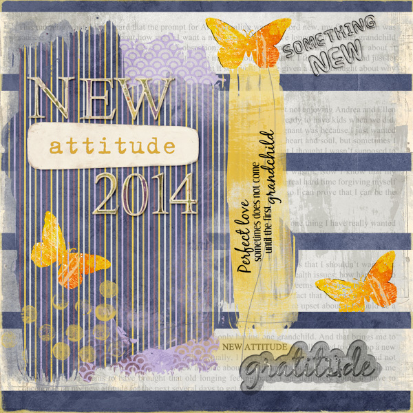 New Attitude Art Journal Challenge