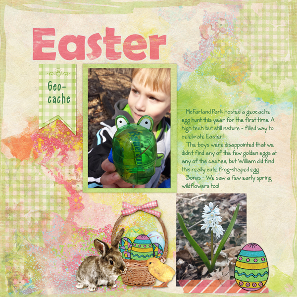 Easter Geocache