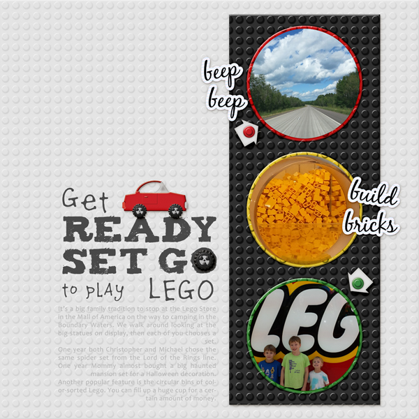 Get Ready Set Go to Play Lego!