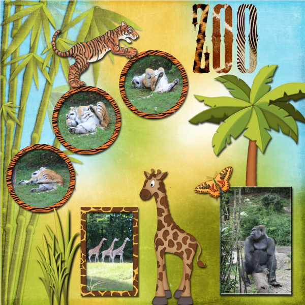 A Day At The Zoo -- 8-30-16 Tuesday Newsletter Challenge