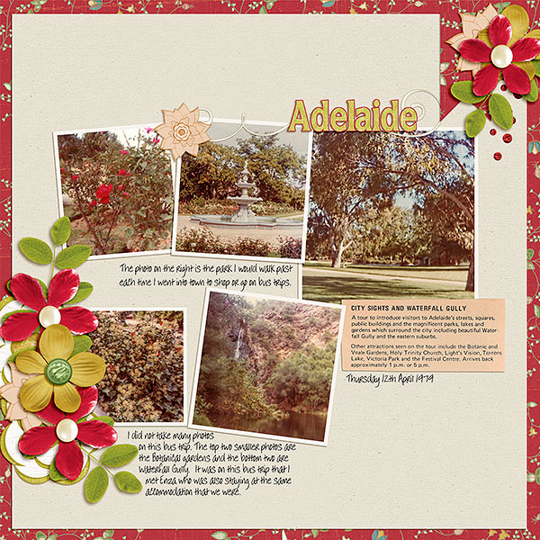 Weekly Newsletter - Scraplift from Jodys gallery - Adelaide