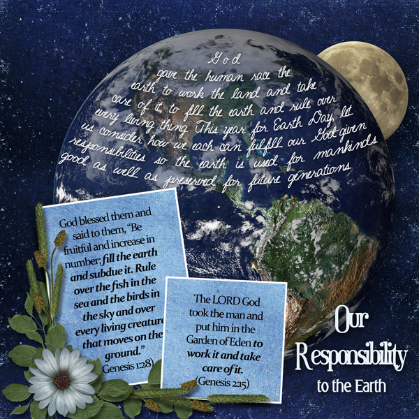 Our Resposibility to the Earth