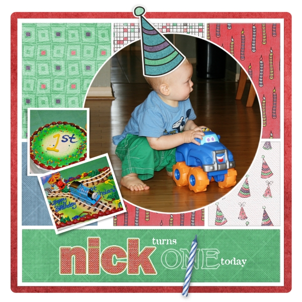 Sketch Tuesday Nick Turns One Today