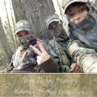 Three Turkey Hunters