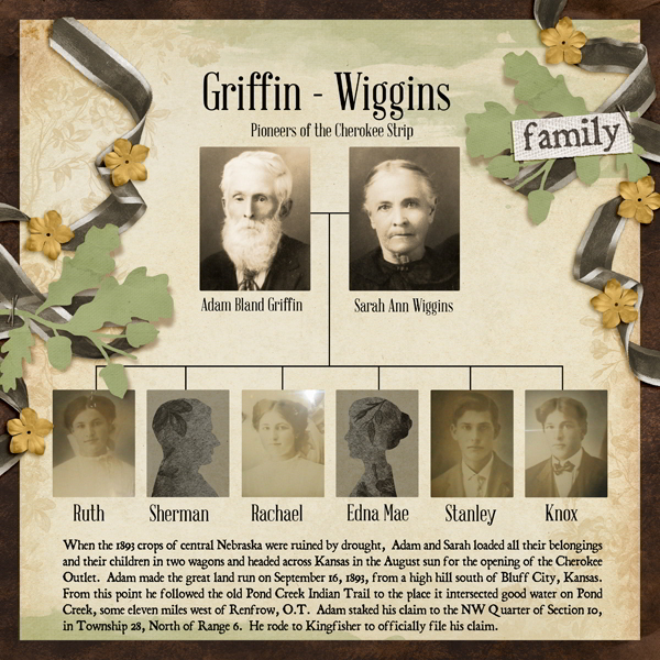 Griffin-Wiggins Pioneer Family