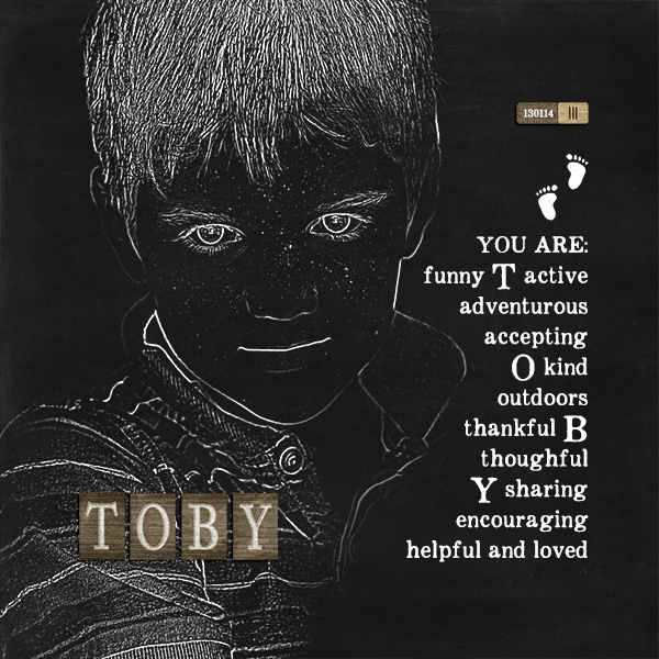 Toby: You Are...