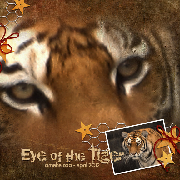 Eye of the Tiger (Mon.Challenge 4/28)
