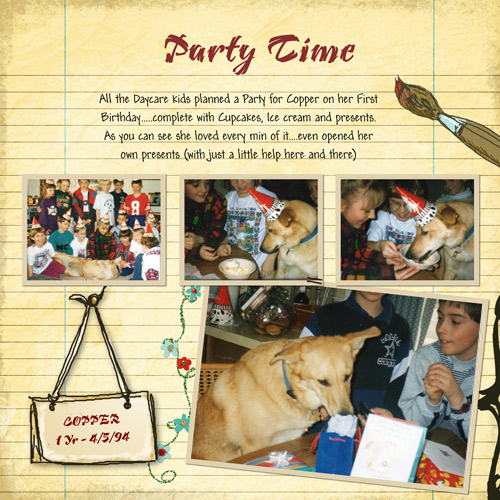 Copper's Birthday Party