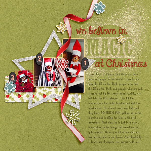 We Believe in Magic at Christmas