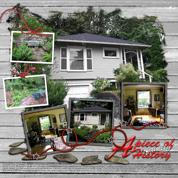 Family home Sold (HNC photo manipulation)