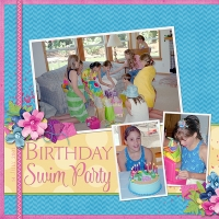 Birthday Swim Party