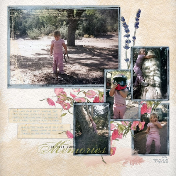 THURSDAY CHALLENGE - 1/6/15 - FIRST CAMPING TRIP