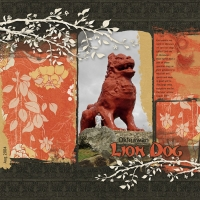 Okinawan Lion Dog - 4/3 Th Challenge